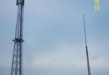 GPZ Drezdenko główny punkt zasilania wieża