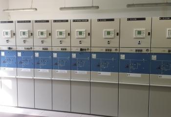GPZ Włoszakowice główny punkt zasilania panele kontrolne